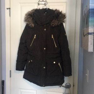 Michael Kors goose down jacket.